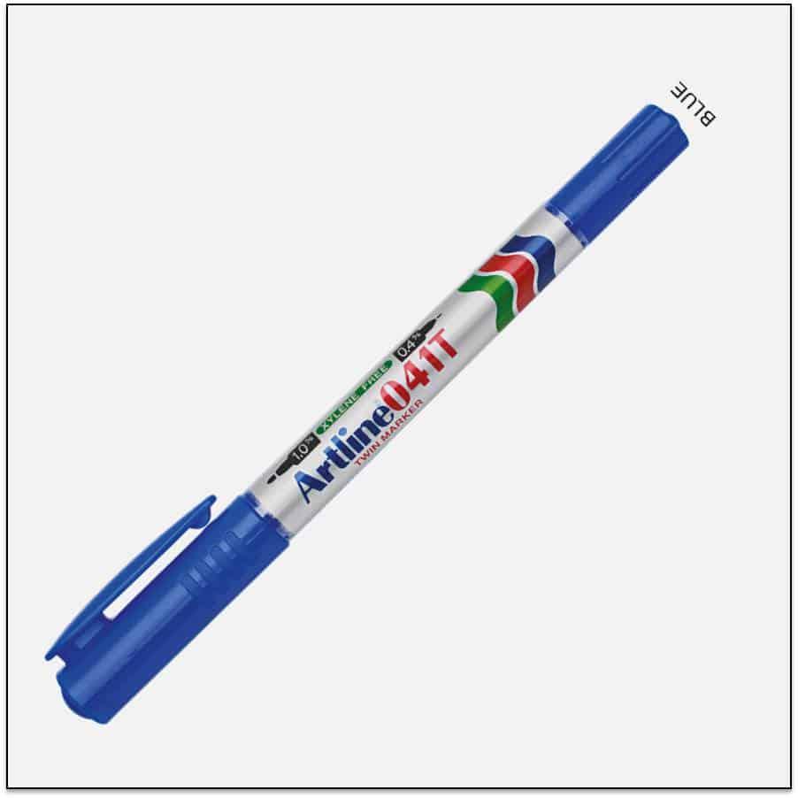 041T BLUE bút lông dầu không lem 1