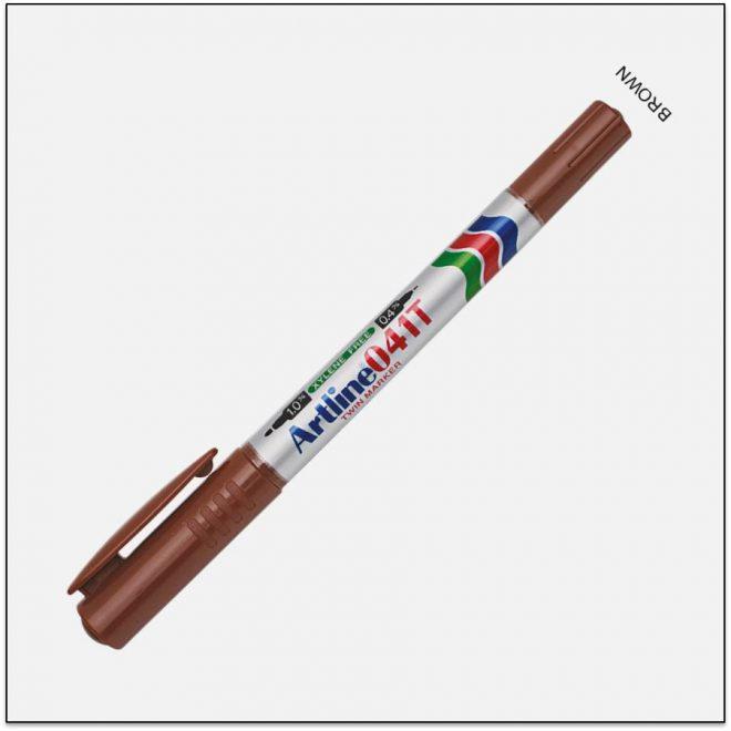 041T BROWN bút lông dầu không lem 1