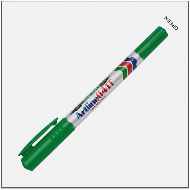 041T GREEN bút lông dầu không lem 1