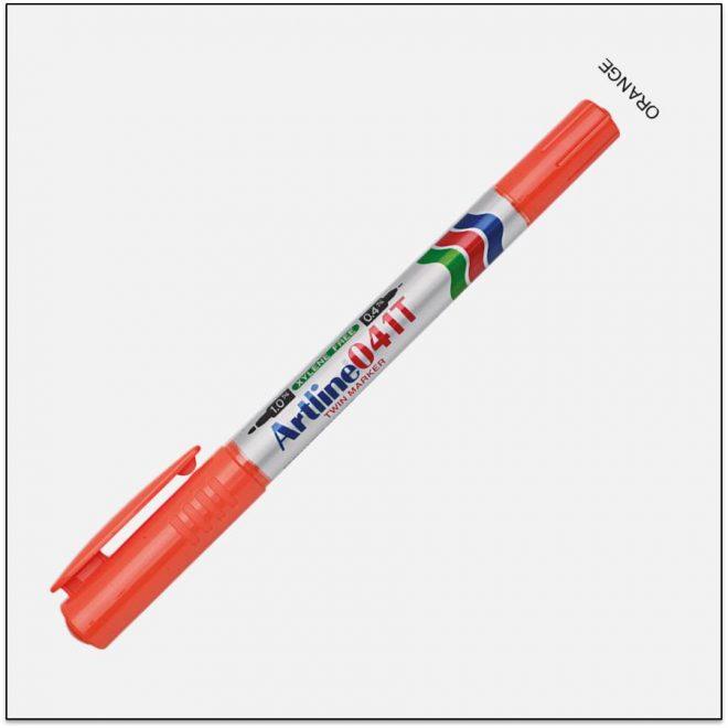 041T ORANGE bút lông dầu không lem 1