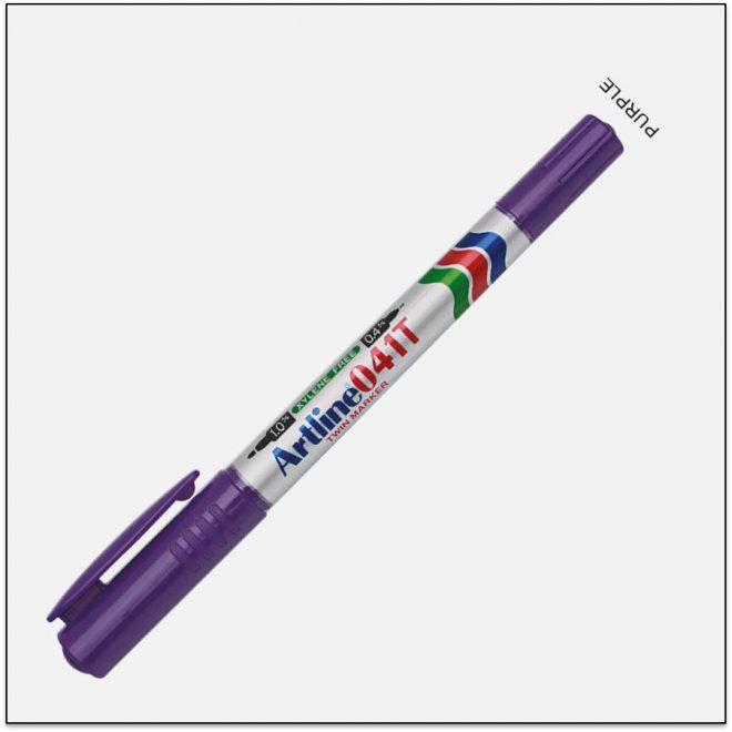 041T PURPLE bút lông dầu không lem 1