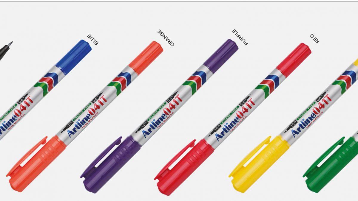 041T artline Bút lông dầu không lem
