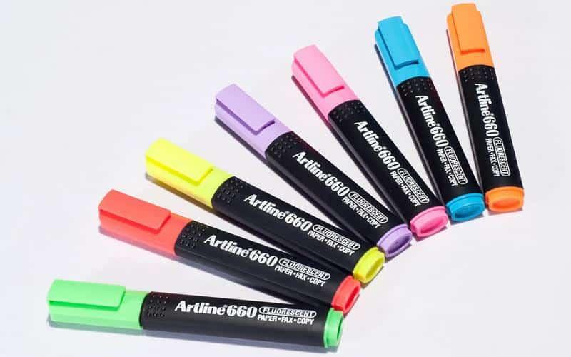 Bút dạ quang EK660 2