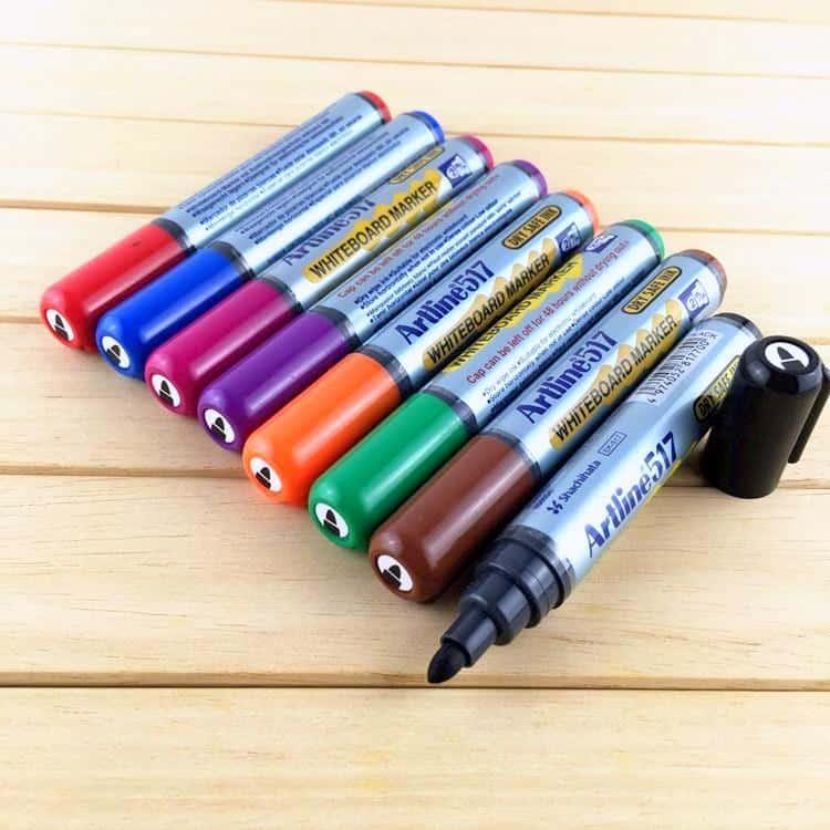 Bút viết bảng nhiều màu