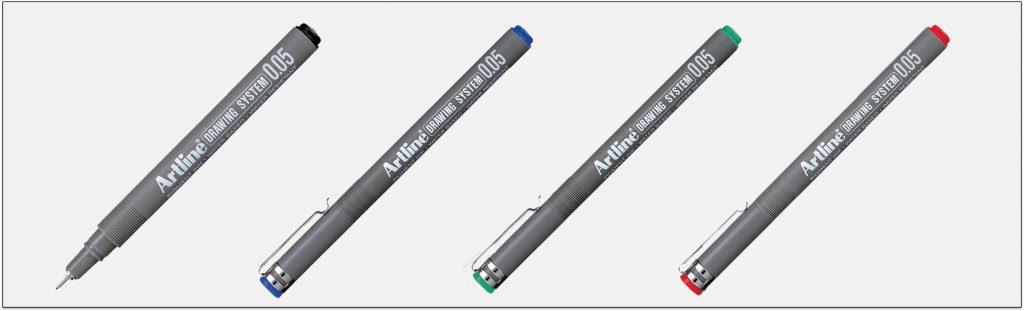 EK 2305 bút vẽ kỹ thuật không lem artline Japan