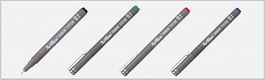 EK 231 bút vẽ kỹ thuật không lem artline Japan
