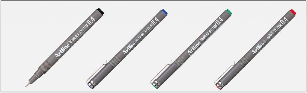 EK 234 bút vẽ kỹ thuật không lem artline Japan