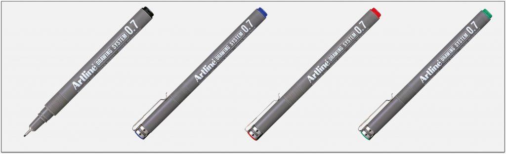 EK 237 bút vẽ kỹ thuật không lem artline Japan