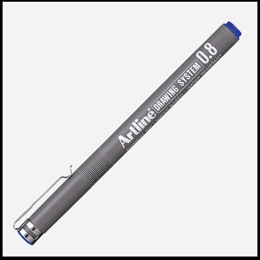 EK 238 BLUE bút vẽ kỹ thuật không lem artline Japan