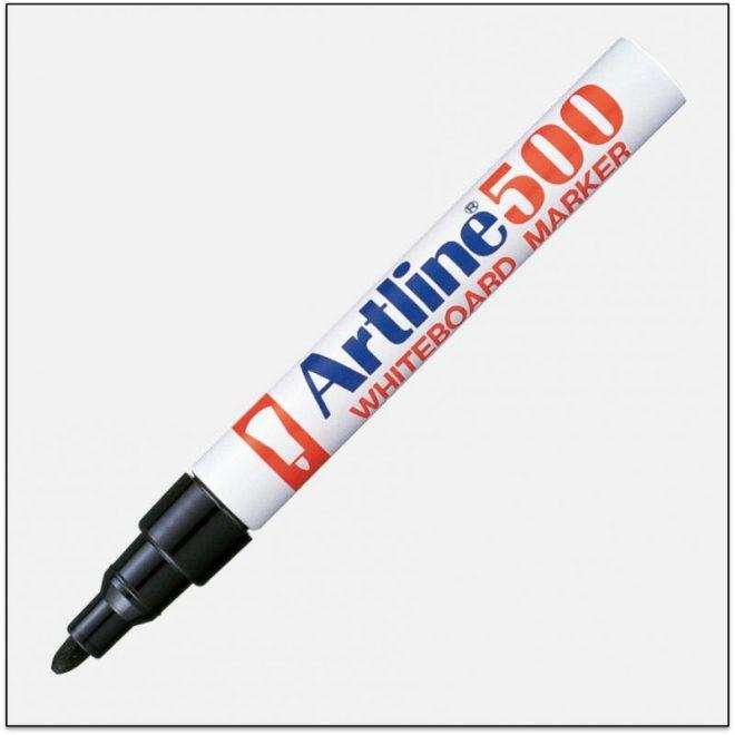 EK 500 BLACK bút viết bảng trắng artline japan