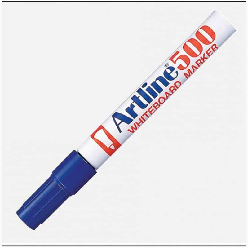 EK 500 BLUE bút viết bảng trắng artline japan