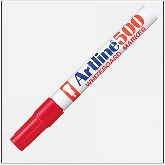 EK 500 RED bút viết bảng trắng artline japan