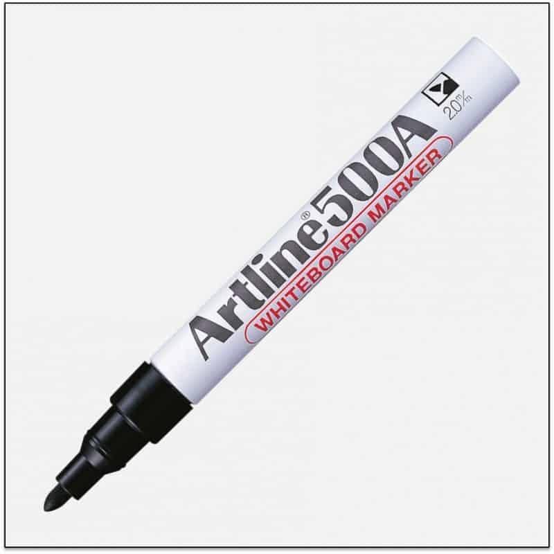 EK 500A BLACK bút viết bảng trắng artline japan