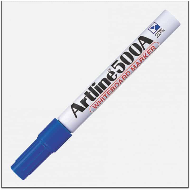 EK 500A BLUE bút viết bảng trắng artline japan