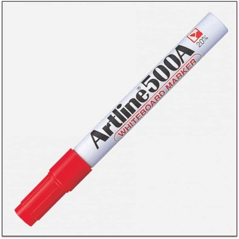 EK 500A RED bút viết bảng trắng artline japan