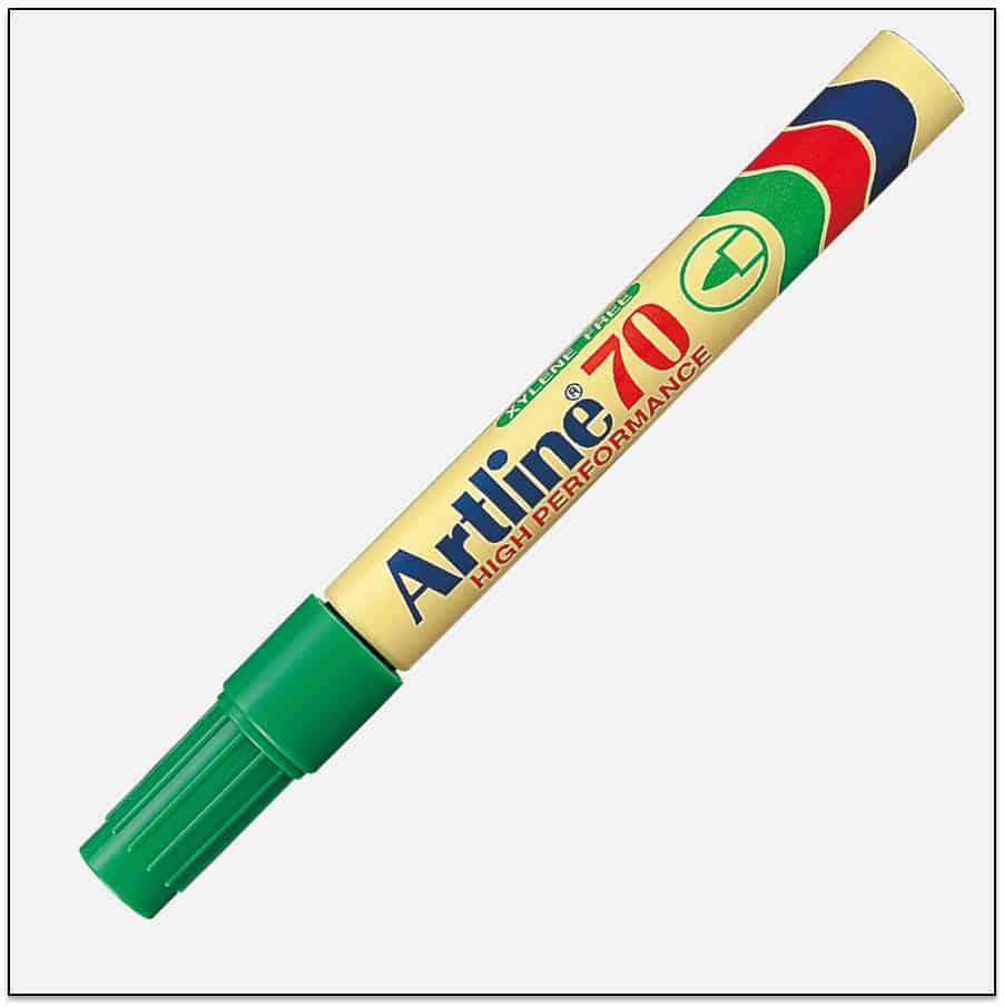 EK 70 GREEN Bút lông dầu không phai artline japan 1