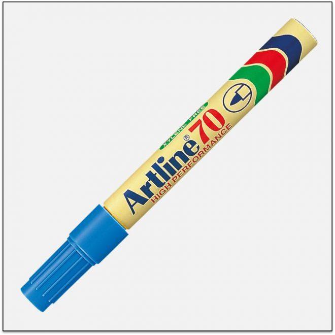 EK 70 LIGHT BLUE Bút lông dầu không phai artline japan 1