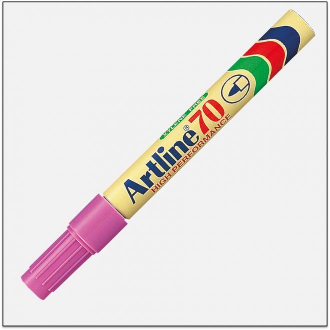 EK 70 PINK Bút lông dầu không phai artline japan 1