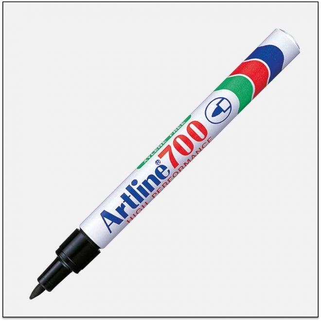 EK 700 BLACK Bút lông dầu không phai Artline Japan 1