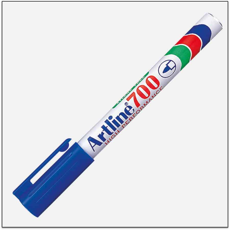 EK 700 BLUE Bút lông dầu không phai Artline Japan 1
