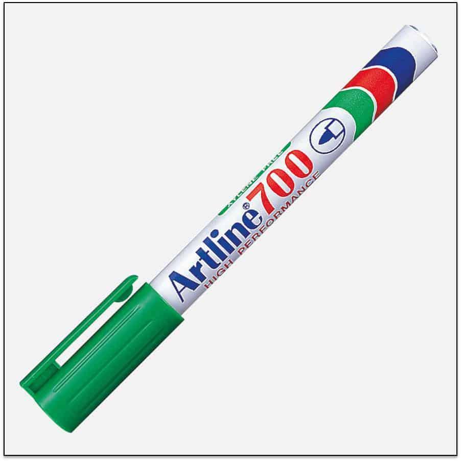 EK 700 GREEN Bút lông dầu không phai Artline Japan 1