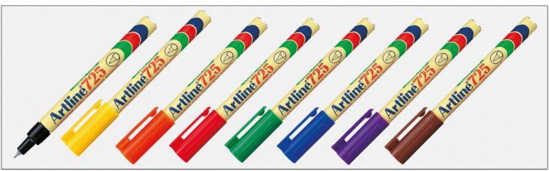EK 725 Bút lông dầu không phai Artline Japan