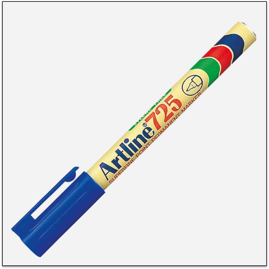 EK 725 BLUE Bút lông dầu không phai Artline Japan 1