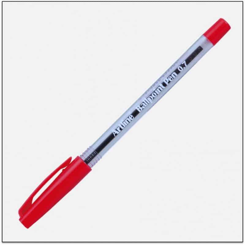 EK 8270 RED bút bi không tắt mực