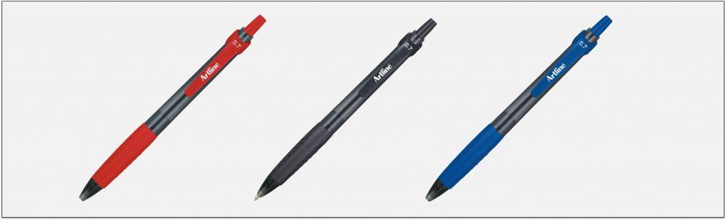 EK 8470 bút bi bấm tốt artline Japan