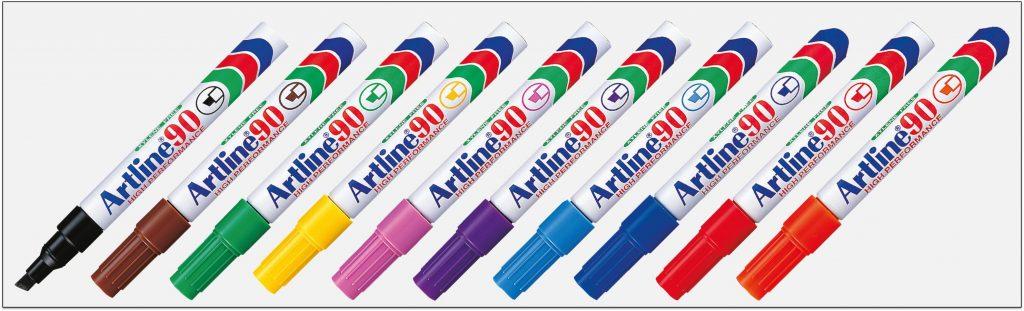 EK 90 Bút lông dầu không phai Artline Japan
