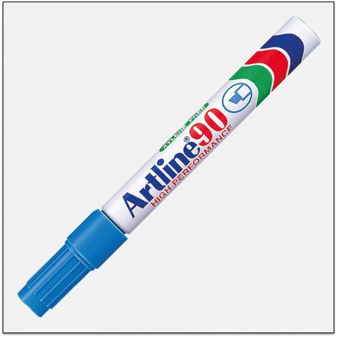 EK 90 LIGHT BLUE Bút lông dầu không phai Artline Japan 1