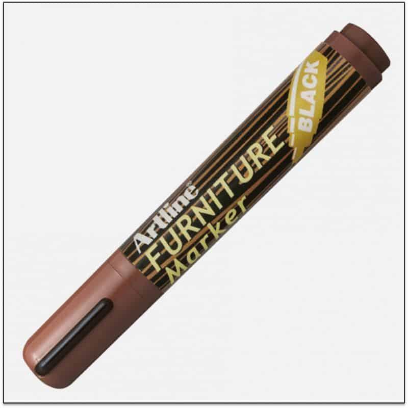 EK 95 BLACK bút che vết trầy gỗ artline japan