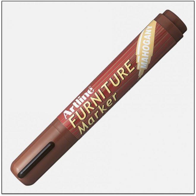 EK 95 MAHOGANY bút che vết trầy gỗ artline japan
