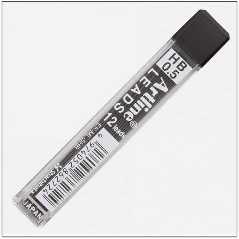 EK ML 5HB Ruột bút chì bấm khó gãy artline japan