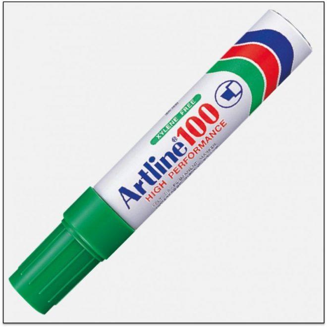 EK 100 GREEN Bút lông dầu ngòi lớn không phai