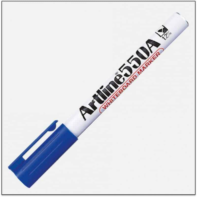 EK 550A BLUE Bút viết bảng ngòi nhỏ