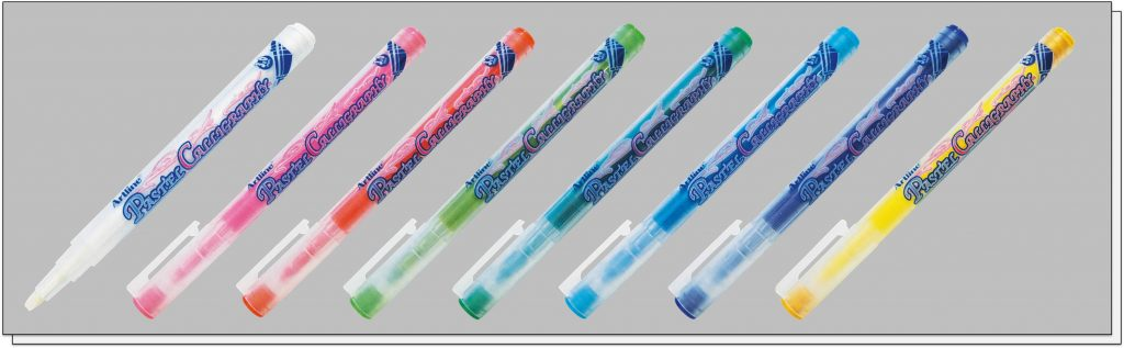 EMP 2CL bút thư pháp màu phấn pastel Artline Japan