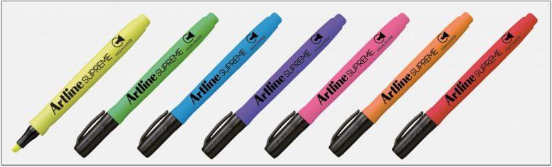 EPF 600  Bút dạ quang nhiều màu đẹp artline japan