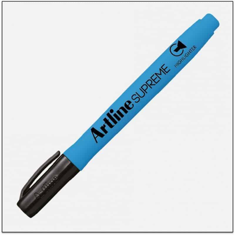 EPF 600 LTBLUE Bút dạ quang nhiều màu đẹp artline japan