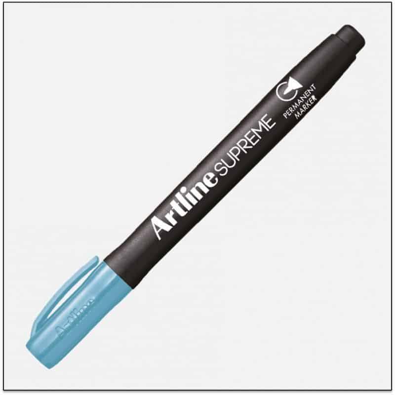 EPF 700 LT.BLUE Bút lông dầu marker không lem artline japan