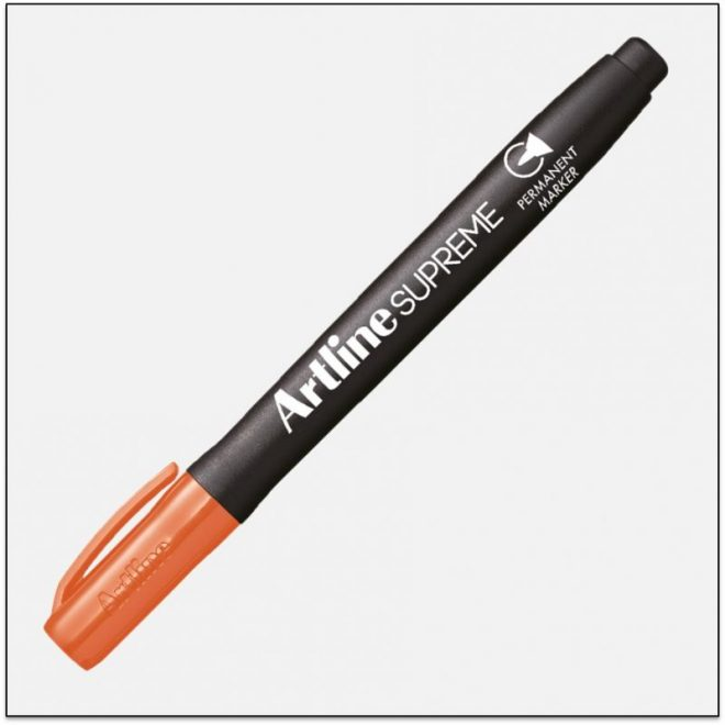 EPF 700 ORANGE Bút lông dầu marker không lem artline japan