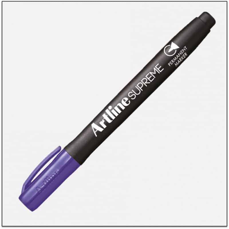 EPF 700 PURPLE Bút lông dầu marker không lem artline japan