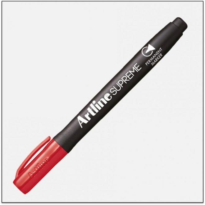 EPF 700 RED Bút lông dầu marker không lem artline japan