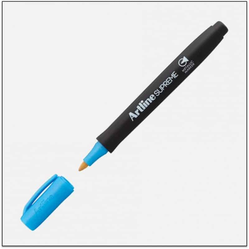 EPF 790 Blue Bút nhũ viết thiệp không lem artline Japan