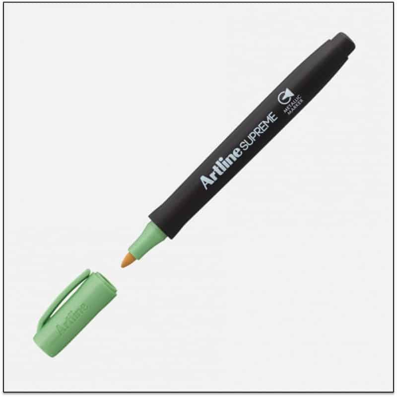 EPF 790 Green Bút nhũ viết thiệp không lem artline Japan
