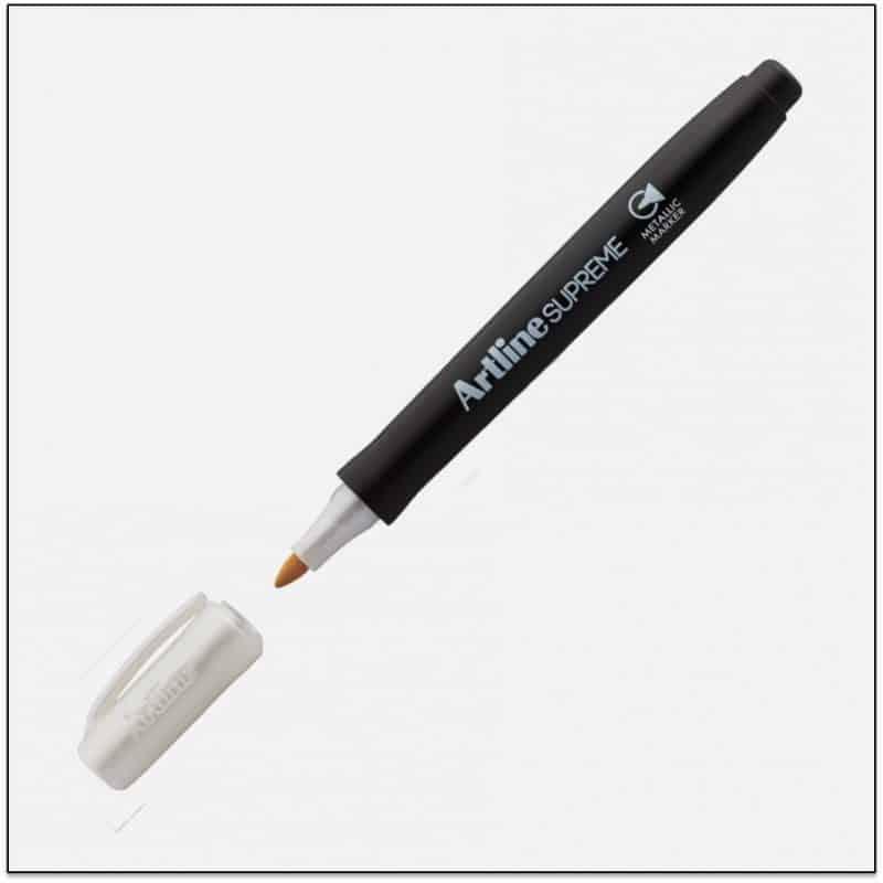 EPF 790 Silver Bút nhũ viết thiệp không lem artline Japan.png