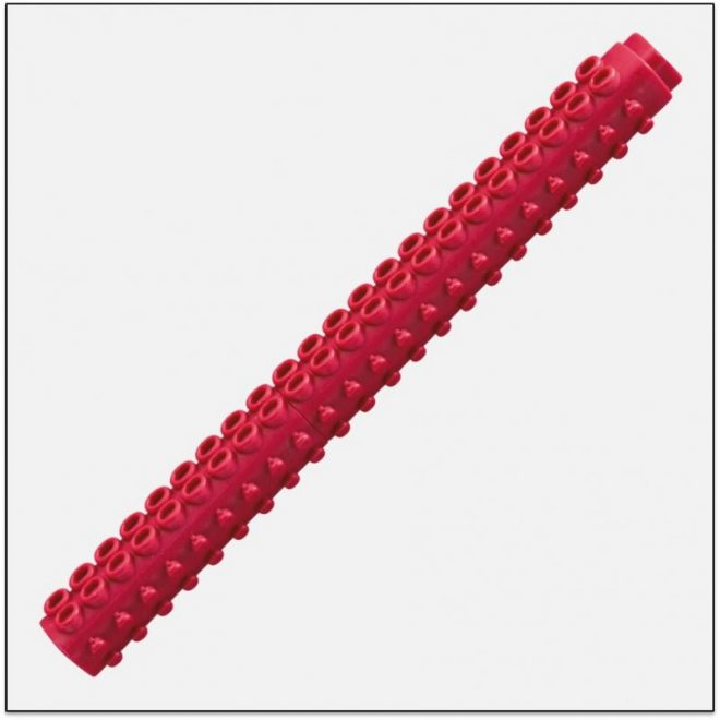ETX 200 DARK RED bút lắp ráp lego ngòi kim artline Japan 1