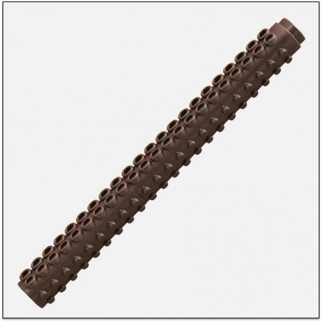 ETX F DARK BROWN bút thư pháp ngòi brush lắp ráp lego artline Japan 1