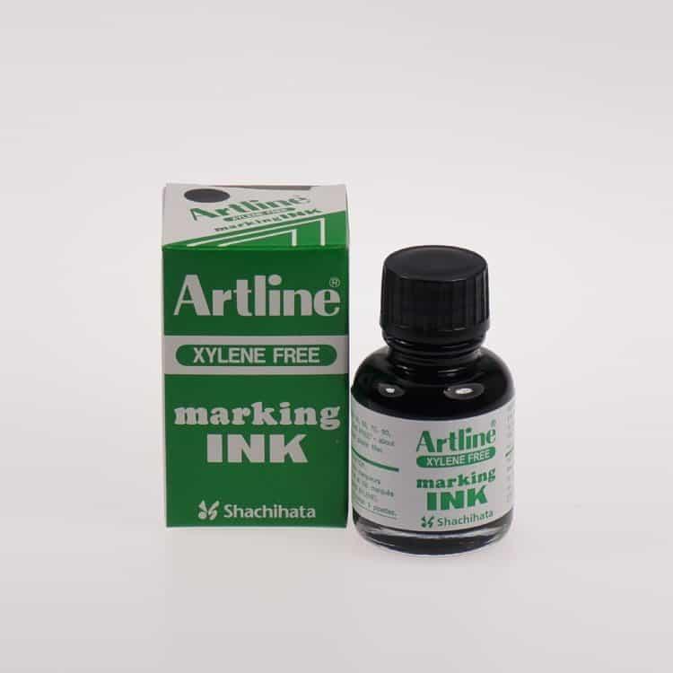 Mực lông dầu Artline không phai ESK 20 BK min
