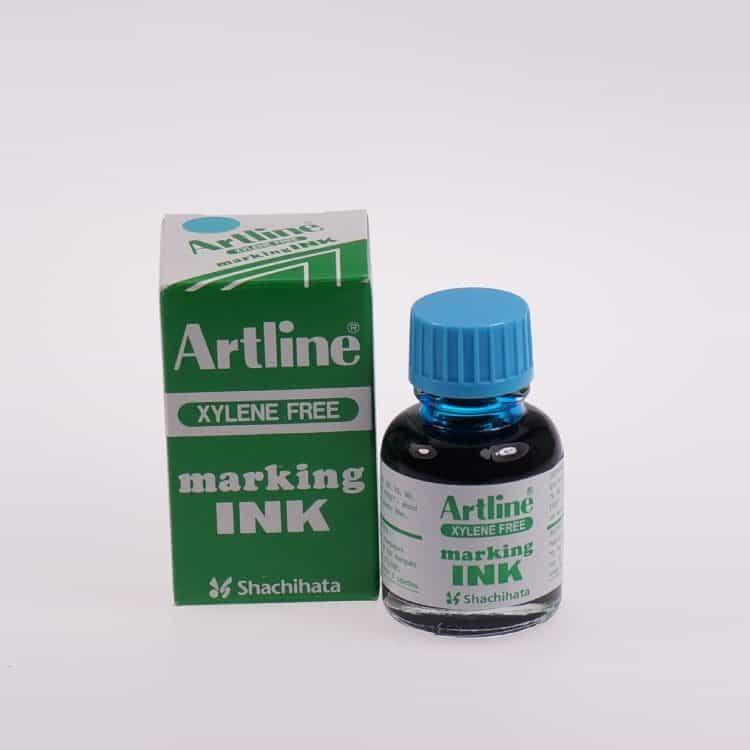 Mực lông dầu Artline không phai ESK 20 LIGHT BLUE min
